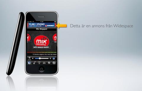 Widespace tar täten i iPhoneannonsering