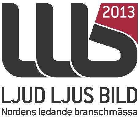 Ljud, Ljus och Bildmässan 2013 - Nordens största branschmässa för ljud, ljus, bild och mediateknik arrangeras på Stockholmsmässan den 23-25 april 2013