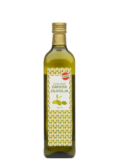 Grekiska Extra Virgin Olivolja