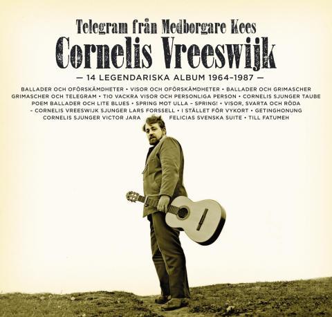 """""""Telegram från  Medborgare Kees – 14 legendariska album 1964-1987"""""""