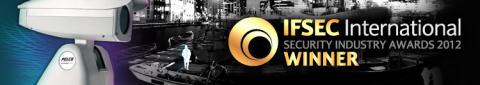 Guld till värmekameran Sarix TI på IFSEC Security Industry Awards