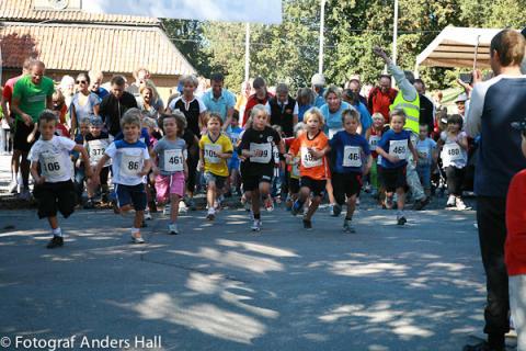 Gå, Lunka, Löp för Världens Barn med Sigtuna Stadslopp 2012