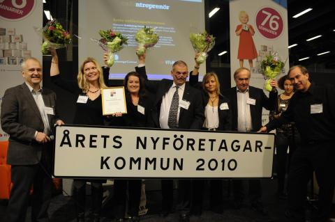 Årets Nyföretagarkommun 2010