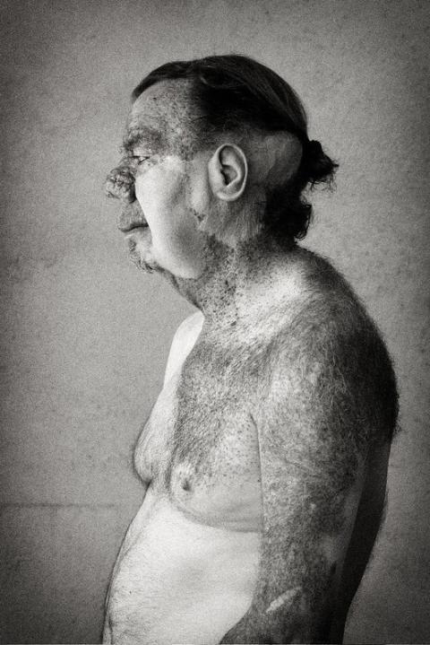 Lennart Mossberg - porträtterad i utställningen Eldsjälar