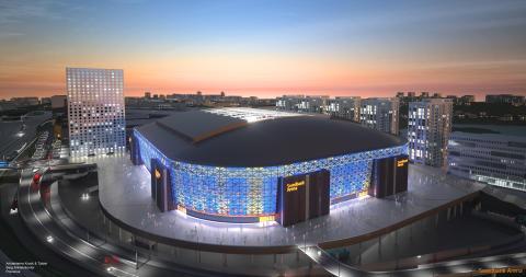Nationalarenan Swedbank Arena valde Hammerglass
