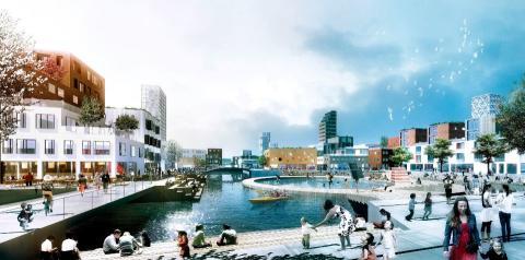 Öresundskraft, NSVA och NSR samverkar med Helsingborgs Stad för hållbara lösningar inom H+