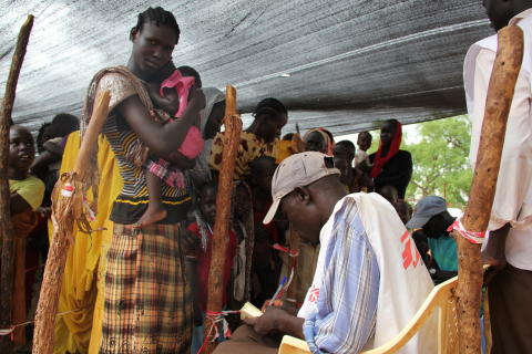 Medicinskt nödläge i Sydsudans flyktingläger
