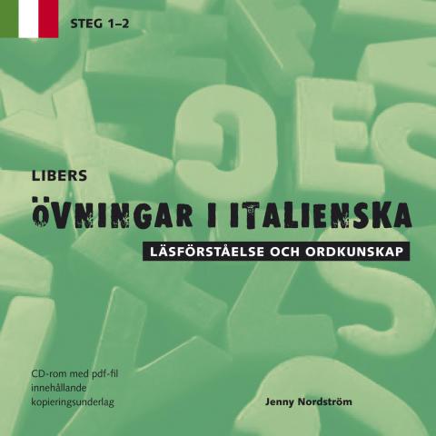 Libers övningar i italienska: Läsförståelse och ordkunskap - Steg 1-2