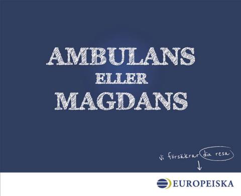 Ambulans eller magdans