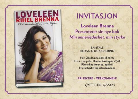 Lansering Loveleen Brenna