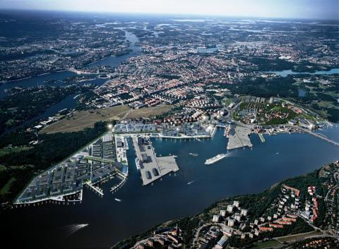 10 miljoner kronor till Swedish ICT för smarta IT-lösningar i Norra Djurgårdsstaden