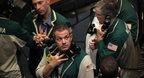 Oil lower in choppy trading