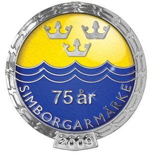 Nu fyller Simborgarmärket 75 år