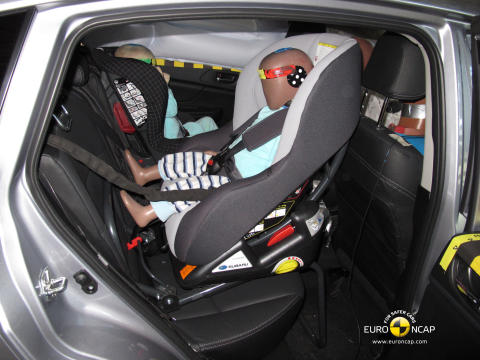 Subaru XV fick högsta betyg i Euro NCAP 2011