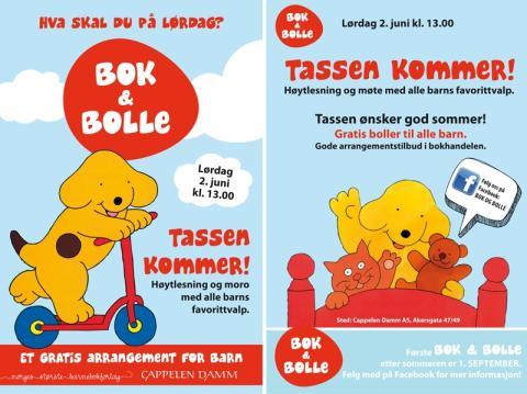 Bok & bolle - et gratis arrangement for barn