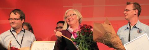 Arbete för patientsäkerhet belönas med premiärpris