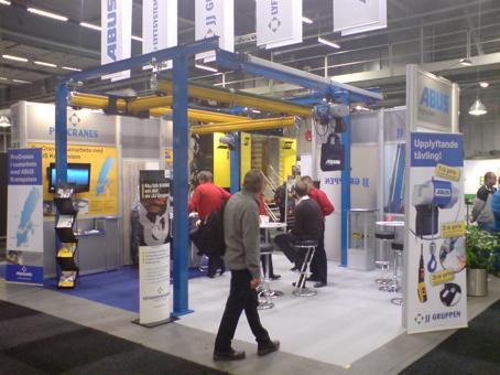 ABUS Sverige Gruppen på Tekniska Mässan 19-22 oktober 2010