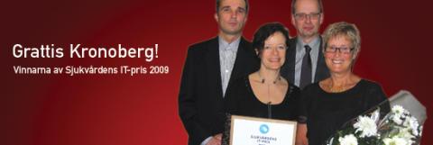 Cambio COSMIC-användare vinner Sjukvårdens IT-pris