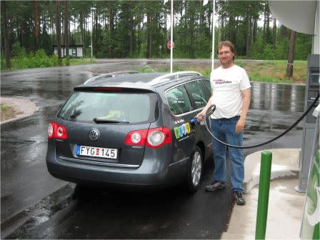 Gröna Bilister: Andra gasmack vore utmärkt, Eskilstuna!