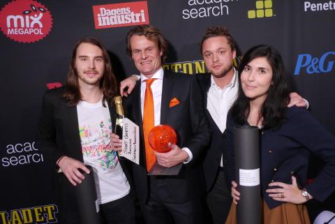 2011: Pause vinner årets 100-wattare i kategorin Smartreklam
