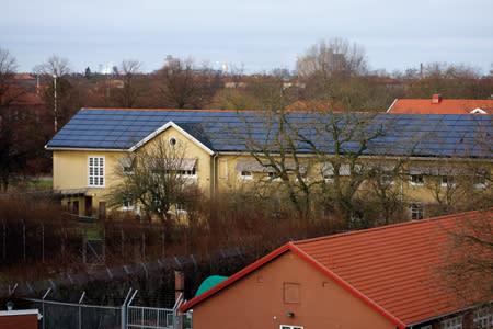 Besök av amerikanska ambassaderna i Norden och invigning av solcellsanläggning på Sege park