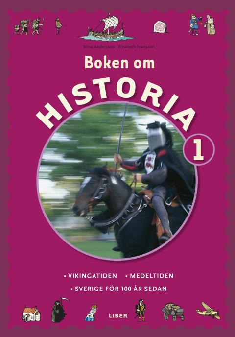 Boken om Historia - Historieböcker som engagerar eleverna!