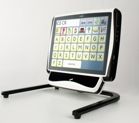 Communication device Tobii C12 with the eye control module Tobii CEye