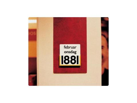 1881 - Kalender