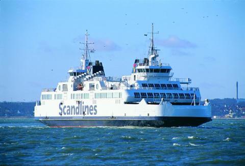 HH Ferries fartyg sätts in i svensk-danska Scandlinessamarbetet