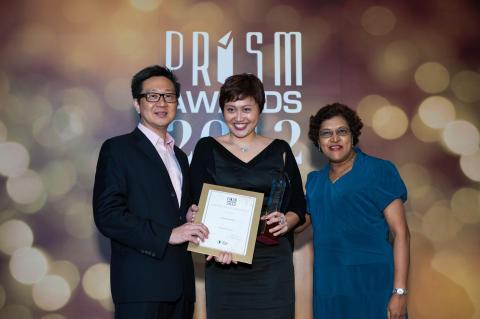 Prism Awards 2012: Outstanding PR Professional - Ms Farah Abdul Rahim