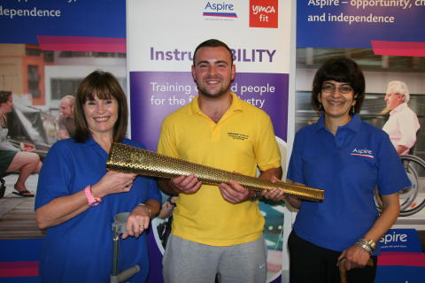 Disabled fitness intructors to carry Paralympic torch