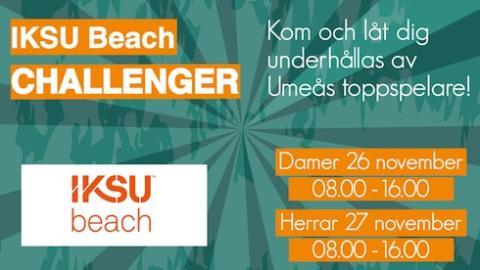 IKSU beach Challenger
