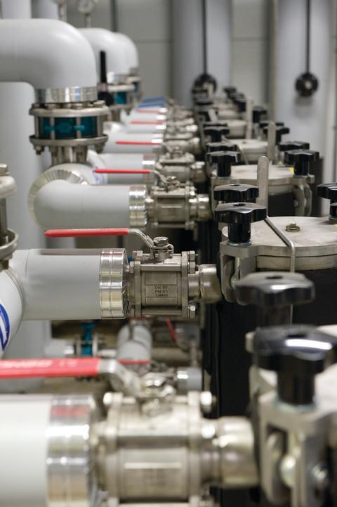 Miljöanpassat måleri på Toyota Material Handling i Mjölby
