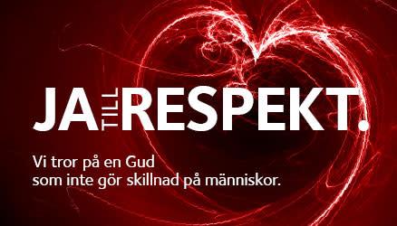 Svenska kyrkan säger ja till respekt