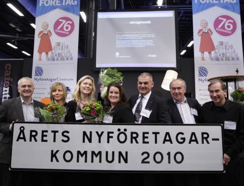 Enköping tog emot årets nyföretagarpris