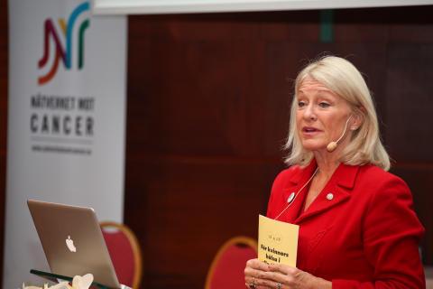 Världscancerdagen 2011: Alexandra Charles berättar om samarbetet med Nätverket mot cancer