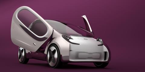 Kia Motors fokuserar på stil och teknik i Paris