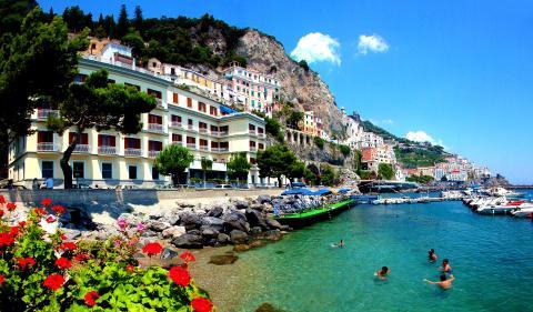 Amalfi – staden som gett namn åt den berömda Amalfikusten