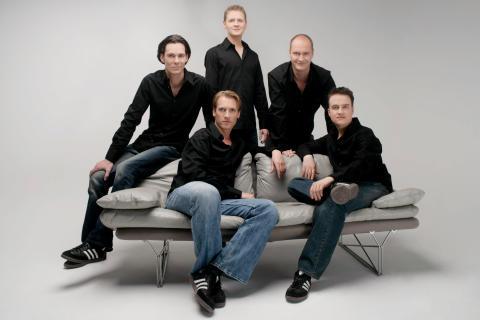 Fem sjungande tyskar på miniturné
