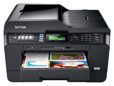 Brothers populære MFC-J6710 alt-i-ett blekkskriver for opp til A3 utskrift