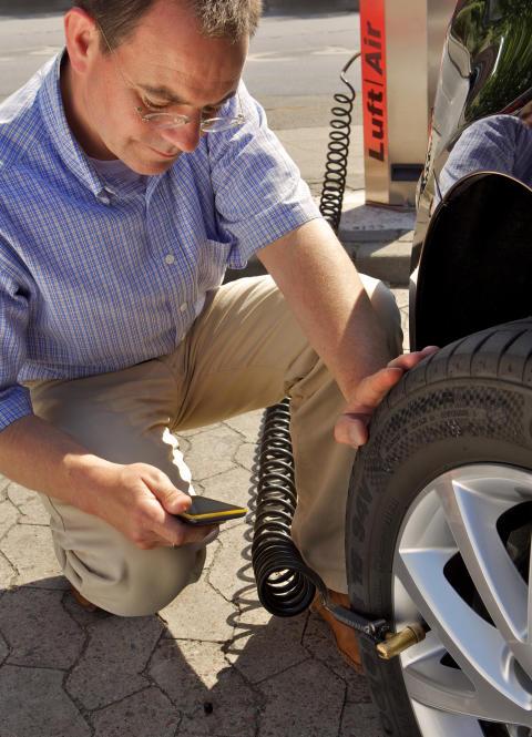 Full kontroll på bilens lufttryck