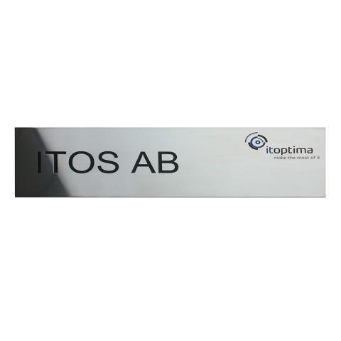 Metallskylt Itos AB