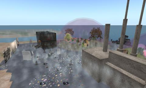 Se studentfilmer och utställningar i Second Life