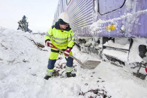 Stärkt vinterberedskap för järnvägen