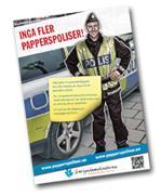 """Inga fler papperspoliser!"" – Sverigedemokraterna lanserar landsomfattande kampanj"