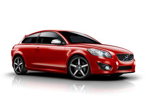 Nya Volvo C30 R-Design med sportchassi i toppklass