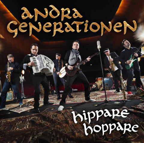 Andra Generationen Hippare Hoppare albumkonvolut