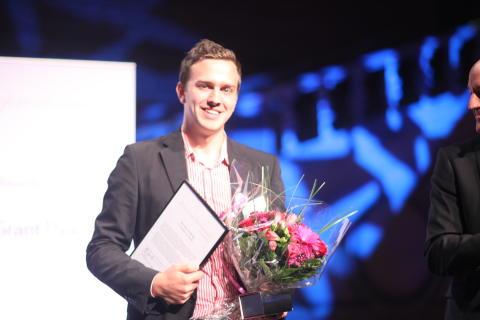 Årets Unga Entreprenör: Mattias Tyrberg, grundare av Saplo