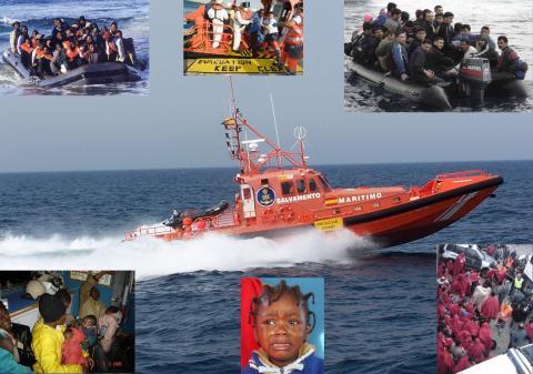 Sjöräddningen Spanska Rödakorset