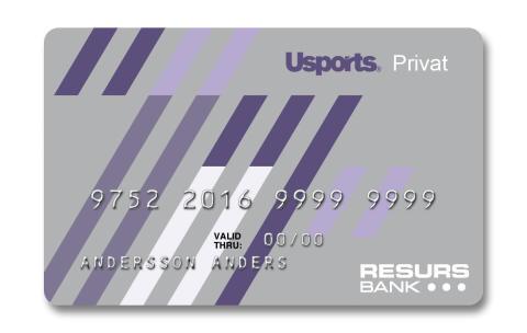 Usports väljer Resurs Bank för kundfinansiering